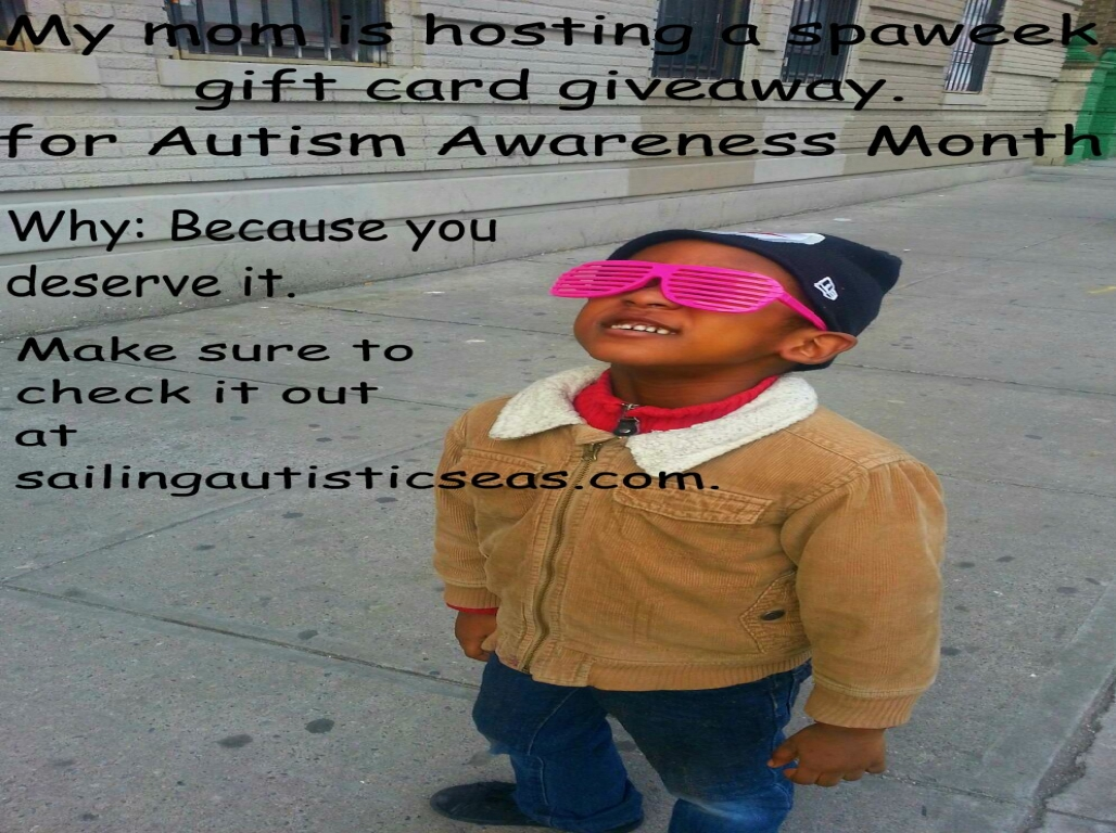 autism awareness month giveaway
